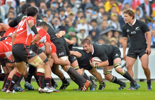 AWESOME: World rugby champions All Blacks may prepare for their title defence in KL. AFPpic