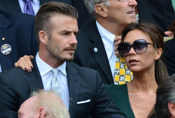 David Beckham and his wife Victoria Beckham will be the honoured guests at the Laureus World Sports Awards/AFP pic.
