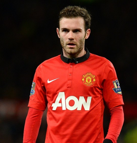 Juan Mata became Manchester United's most expensive signing/AFP pic.