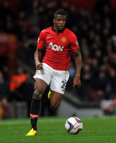 Manchester United's Wilfried Zaha has been loaned to Cardiff City/AFP pic.