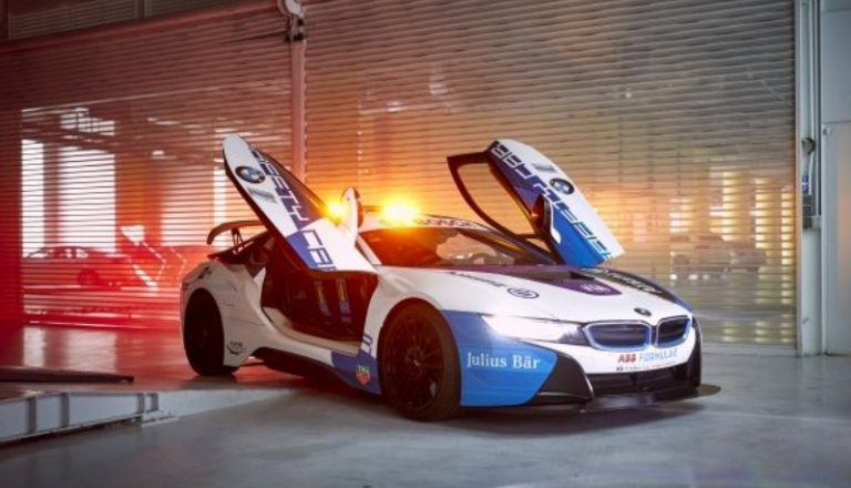 New Formula E Safety Car livery presented in Mexico City