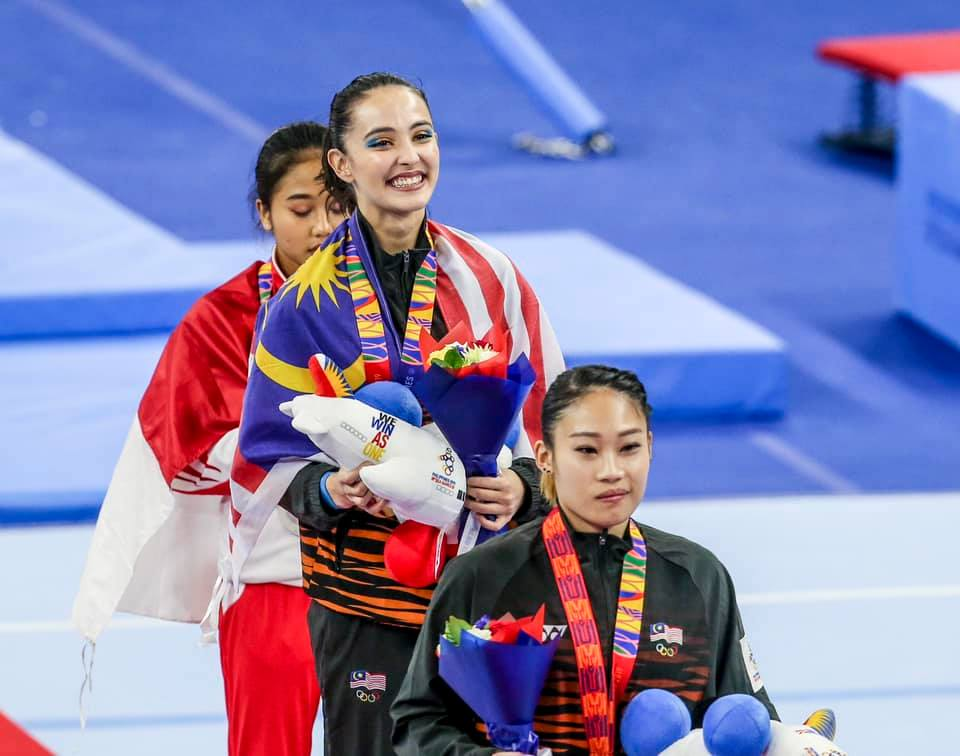Image result for farah ann wins gold""
